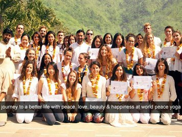 World Peace Yoga School 200 Hour Yoga Teacher Training