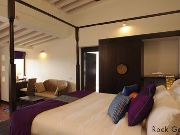 Niraamaya Retreats Surya Samudra Rock Garden Room