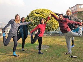 Nepal Yoga Home Yoga Retreat