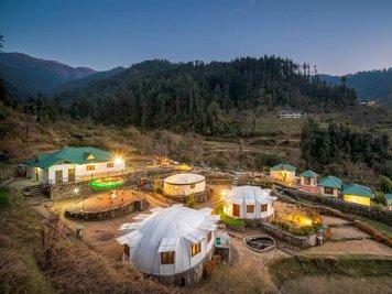 Carnoustie Himalyan Eco Resort Village Kanera India